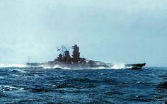 IJN Battleship Yamato at full speed..! 大日本帝国海軍戦艦-大和 (flickr.image) 7.17 (Large)