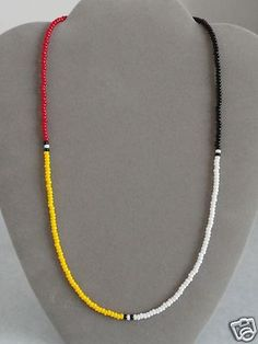 Native American bead necklace