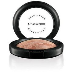The Mac Minerelized Skin Finish in Soft and Gentle is my favorite highlighter! It is the perfect shade of champagne and gold shimmer for my cheekbones :) It gives my skin a really nice glow, and it is not overly disco-bally! :)