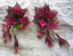 Turkish Oya Needle Lace Brooch. $22.00, via Etsy.