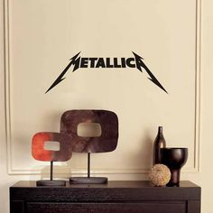 Metallica Logo Wall Decal Vinyl Art Decoration Mural | eBay