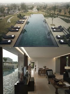 In the Kayumanis Private Villas there is now accommodation for even the most discerning guest in luxurios villas with exquisite interior. Spa Design, Design Hotel, Luxury Restaurant, Nanjing, Floor To Ceiling Windows, Private Pool, Hot Springs, Villa, Relax