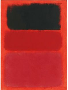 Mark Rothko, Untitled, Year unknown, Oil on paper mounted on canvas, 29 x 22 38