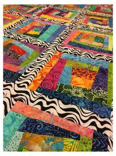 WordPress.com #wonky #log #cabin #quilt #wonkylogcabinquilt Scrappy Quilt Patterns, Log Cabin Quilt Pattern, Batik Quilts, Log Cabin Quilts, Patchwork Quilting, Scrappy Quilts, Easy Quilts, Log Cabins, Log Cabin Patchwork