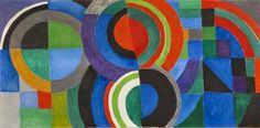 """Rythme couleur"" de Sonia Delaunay   www.Stylefeelfree.com"