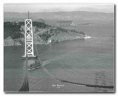 On July 9,1933,the California Department of public works broke ground on the San Francisco-Oakland Bay Bridge crowds gathered at Yerba Buena island to celebrate the world's longest steel structure. Grab this poster for its high quality paper with a high degree of color accuracy. Make your order today!