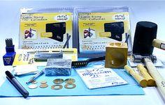 3mm Typewriter Font Metal Stamping Kit  by ArtJewelryBeadsNMore, $150.00