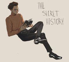 Donna Tartt, Fictional World, The Secret History, Goldfinch, Visual Diary, Book Fandoms, Drawing, Academia, Light In The Dark