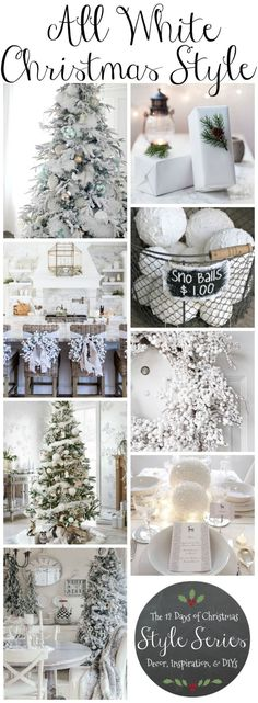 Winter Decorations - Winter Table Ideas u0026 More | Pinterest | Christmas decor Decorating and Winter & Winter Decorations - Winter Table Ideas u0026 More | Pinterest ...