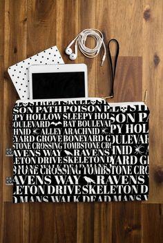Heather Dutton Dead Mans Walk Pouch | DENY Designs Home Accessories