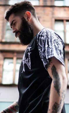 tats, hair and beard Moustaches, Chris Millington, Tatto Boys, Chris John, Beard Suit, Long Beards, Beard Love, Awesome Beards, Beard Tattoo