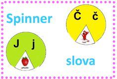 procvičování slovní zásoby, určování počátečního písmene Chart
