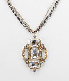 BKE Large Glitz Necklace