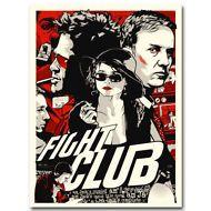 Fight Club Hot Movie Art Silk Poster Canvas Print 12x18 32x48 inch