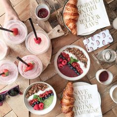 Smoothie bowls from PLUK, Amsterdam