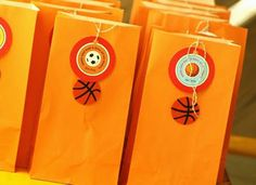 basketball party decorations | Basketball Birthday Favor | Tips Kids Party - Ideas, Themes ...