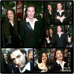 Mike Inez & Sean Kinney at the 2000 Grammys;via my IG laynestaley.aic.forever