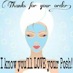 Perfectly Posh thank you for your order. I know you'll love your Posh. Https://katherine.po.sh/