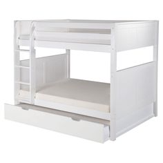 Camaflexi Panel Headboard Full over Full Bunk Bed - C1623DR