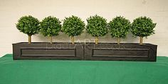 alternative to fake trees | 55. Artificial window boxes, an alternative to traditional plants fake ...