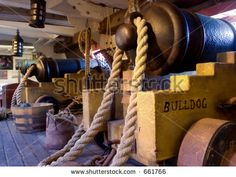 Master And Commander - Cannon Deck (Exclusive At Shutterstock ...