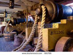 Master Commander Cannon Deck Exclusive Shutterstock Stock Photo (Edit Now) 661766