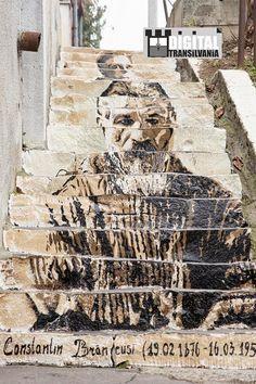 Scări multiculturale -Târgu Mureș Stair Art, Street Wall Art, Pavement Art, Decoration, First World, Fresco, Mount Rushmore, Stairs, Roads