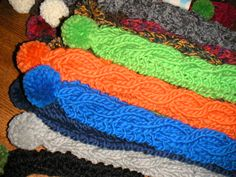 Action Hero : : Knitting Weblog: Cable Scarf Pattern