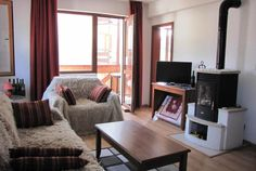 Property Bansko are very pleased to list this lovely corner well laid out 1 bedroom apartment for sa Log Burning Stoves, Shower Fittings, 1 Bedroom Apartment, Hall Bathroom, Corner Unit, Through The Window, Apartments For Sale, Double Beds, Table And Chairs