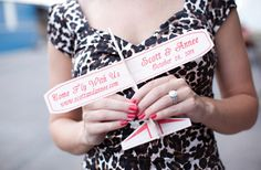 Cute Destination wedding save the dates. If only I could have a destination wedding!