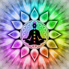 - In Meditation mit Chakren -