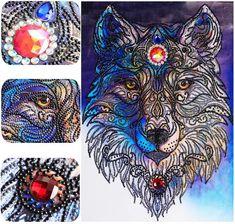 30 Best 5d Diamond Painting Wolf Images Wolf 5d Diamond