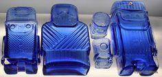 Helena Tynell – Arpa on Heitetty Nordic Design, Scandinavian Design, Red Glass, Glass Art, Yves Klein Blue, Glass Molds, Carnival Glass, Bottle Art, Glass Design