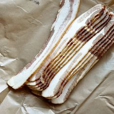 How to freeze individual slices of bacon--Here's how to freeze bacon so that you can grab just a few slices when you need them.