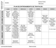 Programa de entrenamiento para Triatletas. 7ª semana - Blog Virgin Active