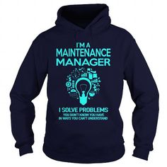 Cool  Maintenance Manager Shirts & Tees #tee #tshirt #named tshirt #hobbie tshirts # Maintenance