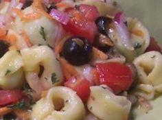 Yum... I'd Pinch That! | Easy Tortellini Salad