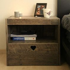 There are plenty of ways to use a reclaimed wood pallet for furniture. In this project you can make a couple of bedside cabinets using a woo...