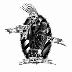 Image result for punk drawing