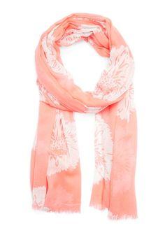 Floral print foulard $30
