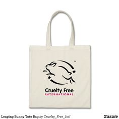 Leaping Bunny Tote Bag