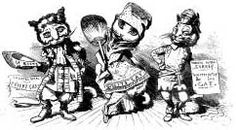 """""""Theatre Cats"""" rubber stamp"""