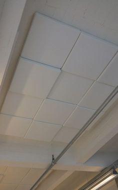 CVOUSPLAIT - 3D akoestische tegels met vilt voor aan het plafond - akoestiek Gypsum Ceiling Design, House Ceiling Design, Ceiling Design Living Room, False Ceiling Living Room, Bedroom False Ceiling Design, Ceiling Decor, Living Room Designs, Pop Design, Wall Design