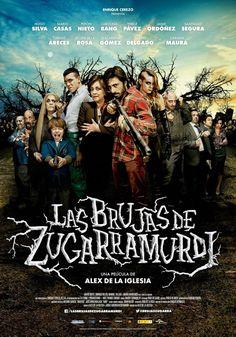 Las brujas de Zugarramurdi (2013)   Anti-hombres y anti-mujeres... Ya sabemos como se las gasta Álex de la Iglesia. Con su humor ácido nos presenta esta...