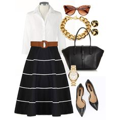 Classy. I like this for job interviews and presentations! @Kimberly Peterson Peterson Peterson Breanne