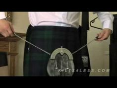 Learn How To Wear A Kilt Outfit