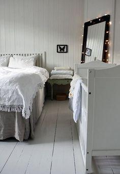 дизайн спальни с кроваткой новорожденного