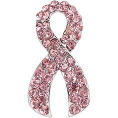 National Breast Cancer Foundation Pink Ribbon Pin ($10) ❤ liked on Polyvore featuring jewelry, brooches, brooch, pink, imitation jewellery, artificial jewellery, fake jewelry, ribbon jewelry and pink ribbon jewelry