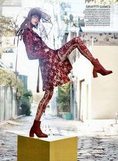 Karlie Kloss byCraig McDeanforUS Vogue - January 2014