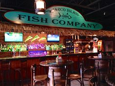 Marco Island Fish Co. in Marco Island, FL. Full of fresh food, drinks and desserts. Located in Walk Plaza.